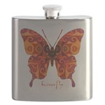 Crucifix Butterfly Flask
