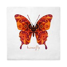 Crucifix Butterfly Queen Duvet