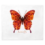 Crucifix Butterfly King Duvet