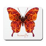 Crucifix Butterfly Mousepad