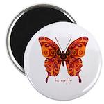 Crucifix Butterfly Magnet