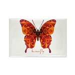 Crucifix Butterfly Rectangle Magnet (100 pack)
