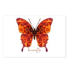 Crucifix Butterfly Postcards (Package of 8)
