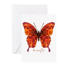 Crucifix Butterfly Greeting Cards (Pk of 10)