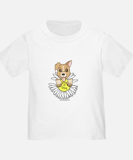 Oops-a-Dazy Puppy T
