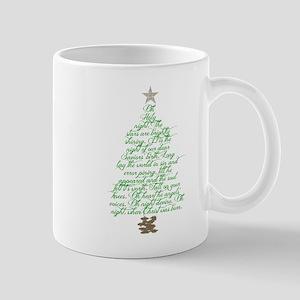 Oh holy night tree Mug