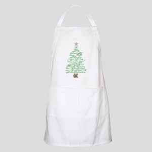 Oh holy night tree Apron