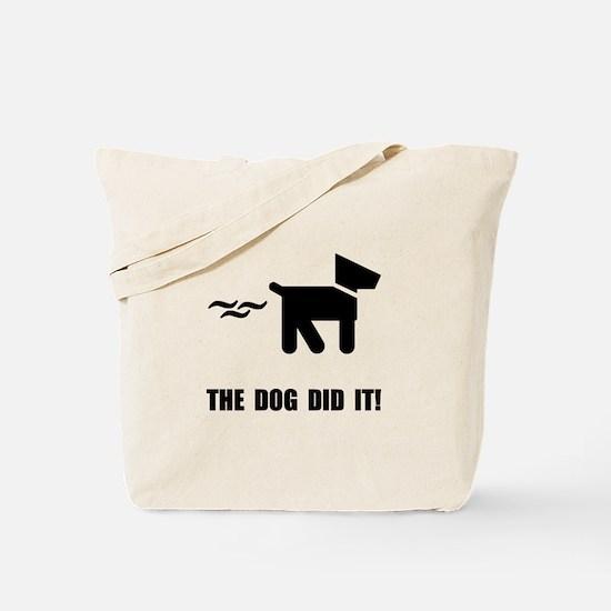Dog Did It Tote Bag