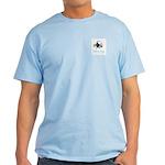 Pug with Daisy Light T-Shirt