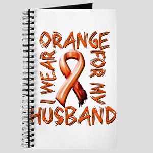 I Wear Orange for my Husband Journal