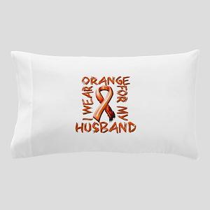 I Wear Orange for my Husband Pillow Case