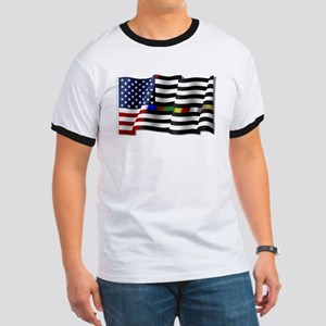 Thin Line Combo Flag T-Shirt