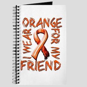 I Wear Orange for my Friend Journal