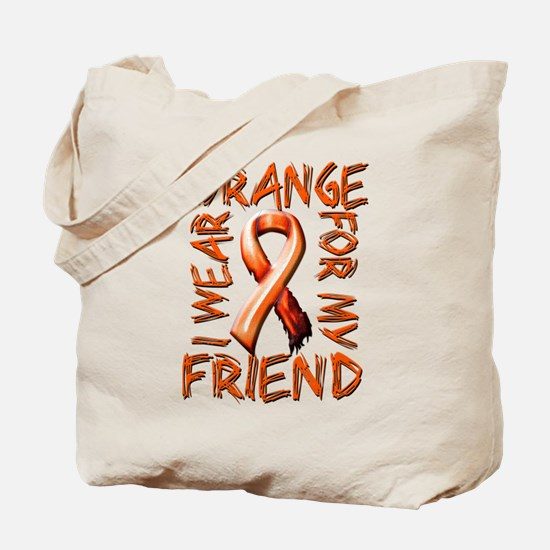 I Wear Orange for my Friend.png Tote Bag