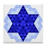 Jewish Quilt Tile Coaster