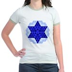 Jewish Quilt Jr. Ringer T-Shirt
