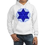 Jewish Quilt Hooded Sweatshirt