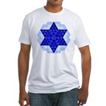 Jewish Quilt Fitted T-Shirt