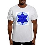 Jewish Quilt Ash Grey T-Shirt