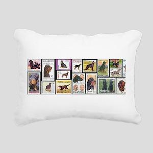 steinStamps Rectangular Canvas Pillow