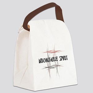 Martial Arts Indomitable Spirit Canvas Lunch Bag
