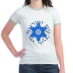 Am Israel Jr. Ringer T-Shirt