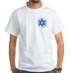 Am Israel White T-Shirt