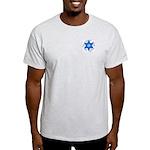 Am Israel Ash Grey T-Shirt
