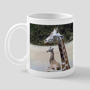 Giraffes at Rest Mug