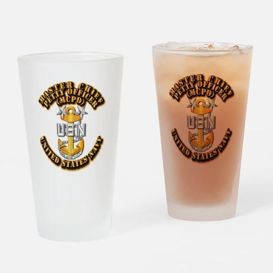 Navy - CPO - MCPO Drinking Glass