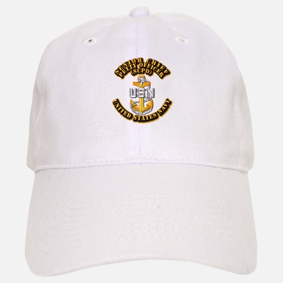 Navy - CPO - SCPO Baseball Baseball Cap