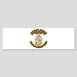 Navy - CPO - SCPO Sticker (Bumper)