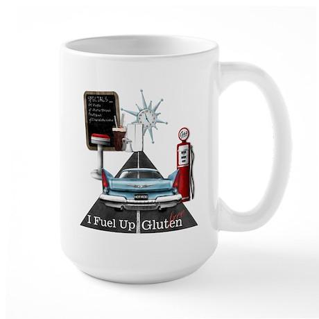 I Fuel Up Gluten Free Large Mug