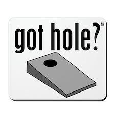 Cornhole: Got Hole? Mousepad