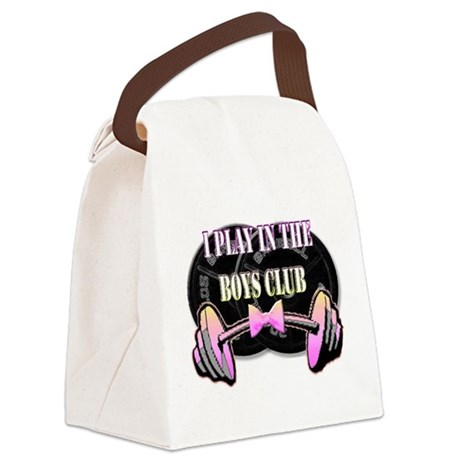 Boys club png.png Canvas Lunch Bag