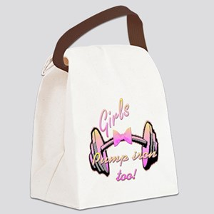 Girls pump png Canvas Lunch Bag