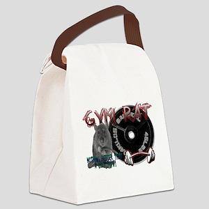 Rat png Canvas Lunch Bag
