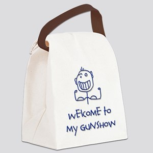Welcome png Canvas Lunch Bag