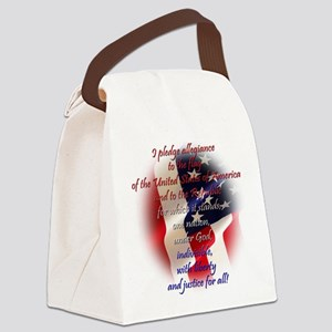 Pledge Canvas Lunch Bag