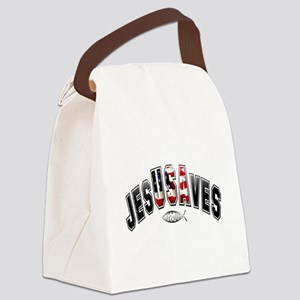 USA Jesus Canvas Lunch Bag