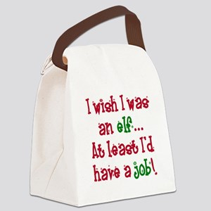 I wish png Canvas Lunch Bag