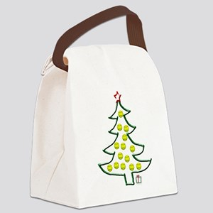 Softball tree png Canvas Lunch Bag