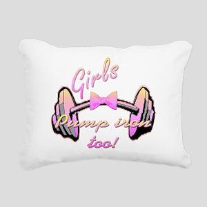 Girls pump png Rectangular Canvas Pillow