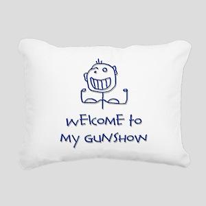 Welcome png Rectangular Canvas Pillow