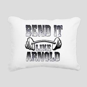 Bend it png Rectangular Canvas Pillow