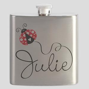 Ladybug Julie Flask