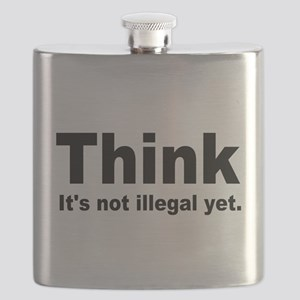THINK ITS NOT ILLEGAL YET Flask