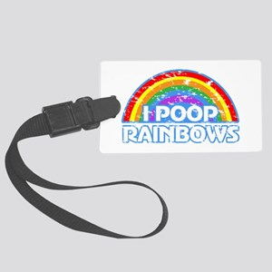 I Pooped Today! Large Luggage Tag