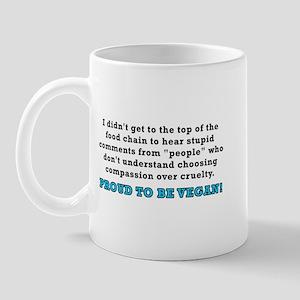 Food chain...vegan - Mug