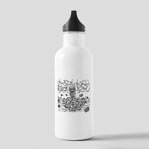 Finger Tornado Stainless Water Bottle 1.0L